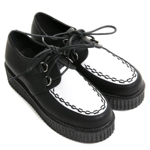 CREEPER BLANCO Y NEGRO
