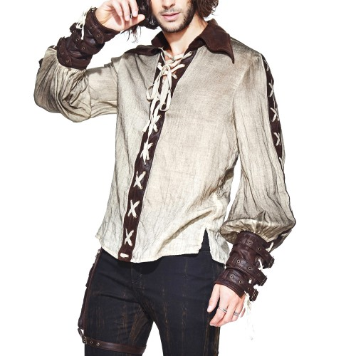 camisa STEAMPUNK hombre