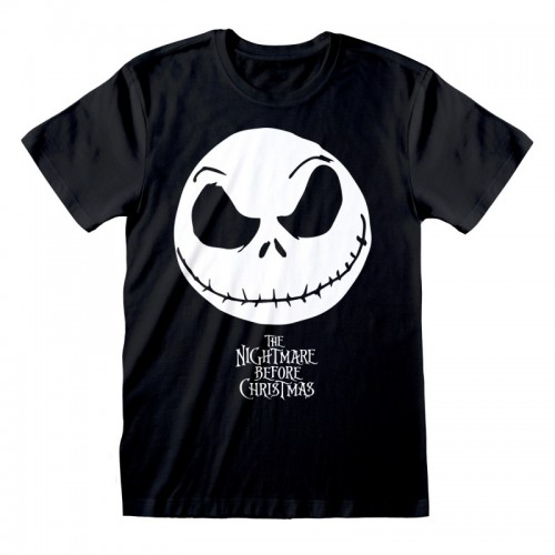 CAMISETA NIGHTMARE BEFORE CHRISTMAS  JACK FACE
