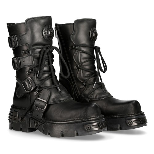 BOTAS NEW ROCK  NEGRAS UNISEX